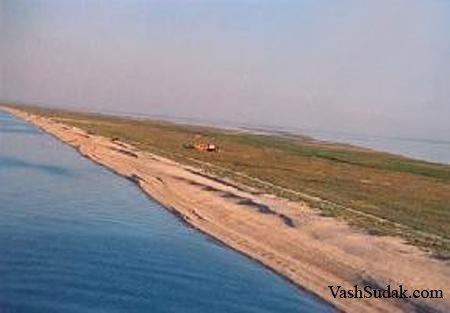 Азовское побережье Крыма.