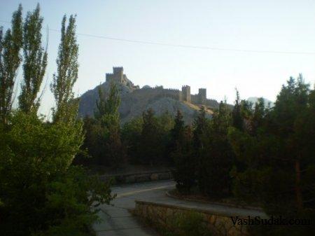 Генуэзская крепость Судак. Фото