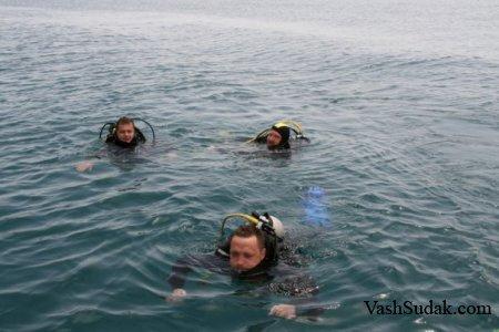 Морские развлечения в Судаке. Фото