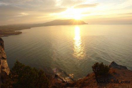 Восход и Закат в Судаке. Фото