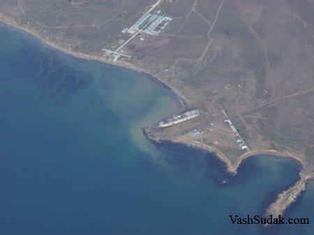 Вид на Судак с воздуха. Фото
