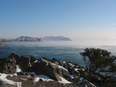 Зимний Судак. Фото