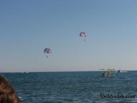 Пляж Судака. Фото