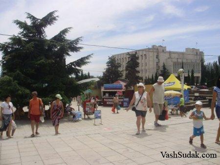 Кипарисовая Аллея Судак. Фото