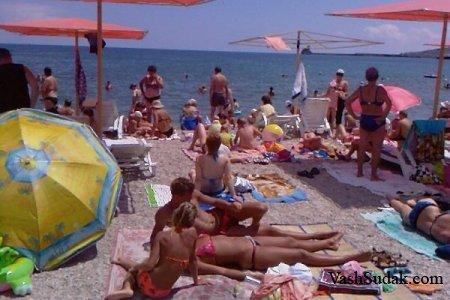 Пляжи Юго - Восточное побережье Крыма