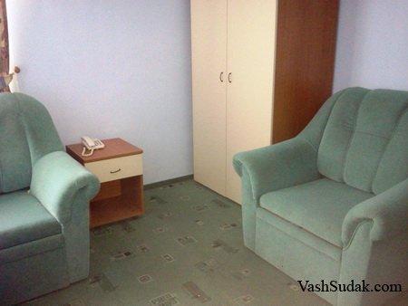 Гостиница Калипсо. Судак
