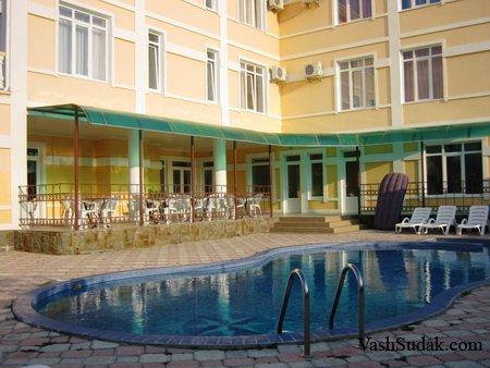 Гостиница дом Атамана. Судак