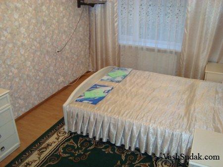 Двухкомнатная квартира ул. Бирюзова. Судак