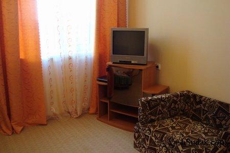 Отель Водолей на улице Нахимова. Судак