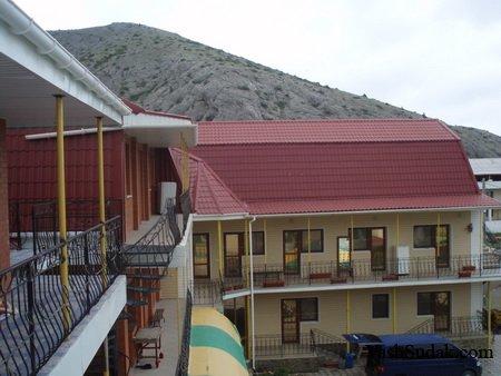 Гостиница на Аквапарке. Судак