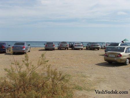 Пляж мыс БУГАЗ. Фото