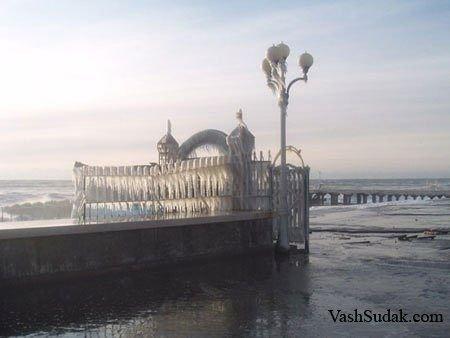 Алушта Февраль. Фото