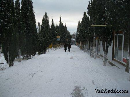 Январь Судак. Фото
