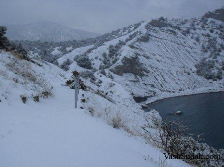 Зима Новый Свет. Фото