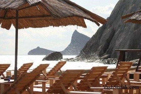 Пляж Мохито. Судак
