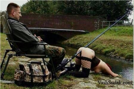 Жена очень просилась на рыбалку, обещала, что выполнит все, что я захочу...