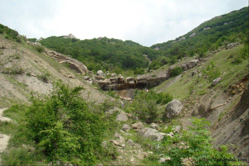 Водопад Арпат. Зеленогорье