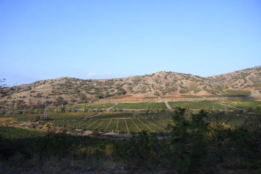 Судак - Родина Отечественного Шампанского и колыбель Крымского Виноделия