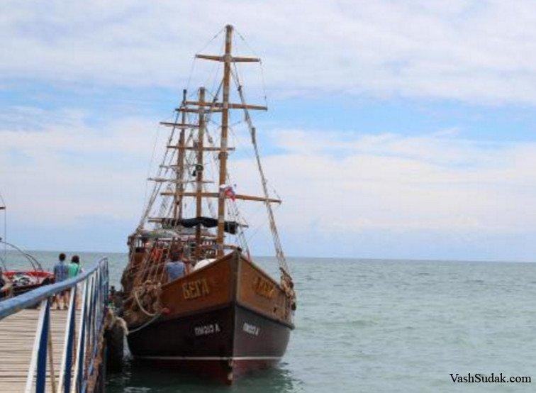 Морские экскурсии. Коктебель