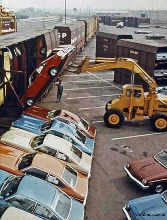 Погрузка Шевроле, 1971 г.