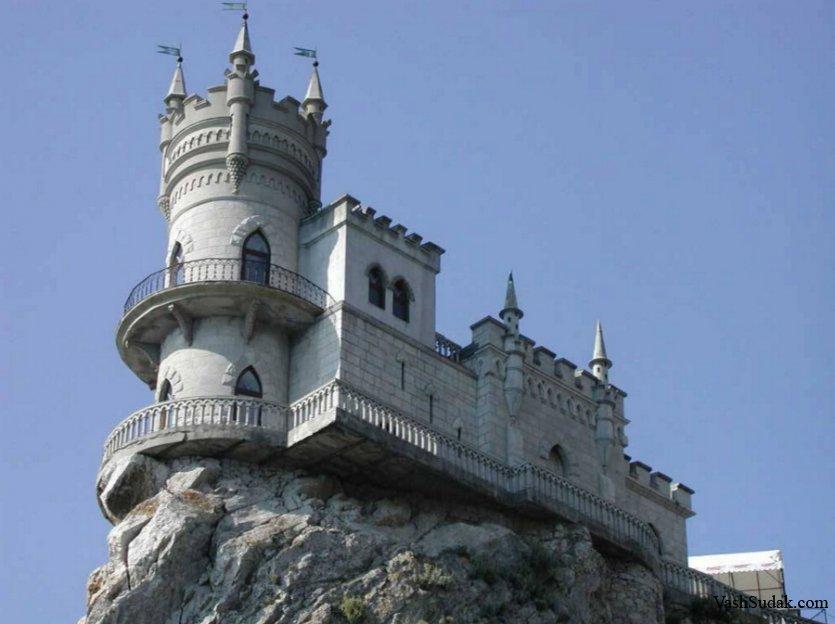 Замок Ласточкино гнездо. Гаспра