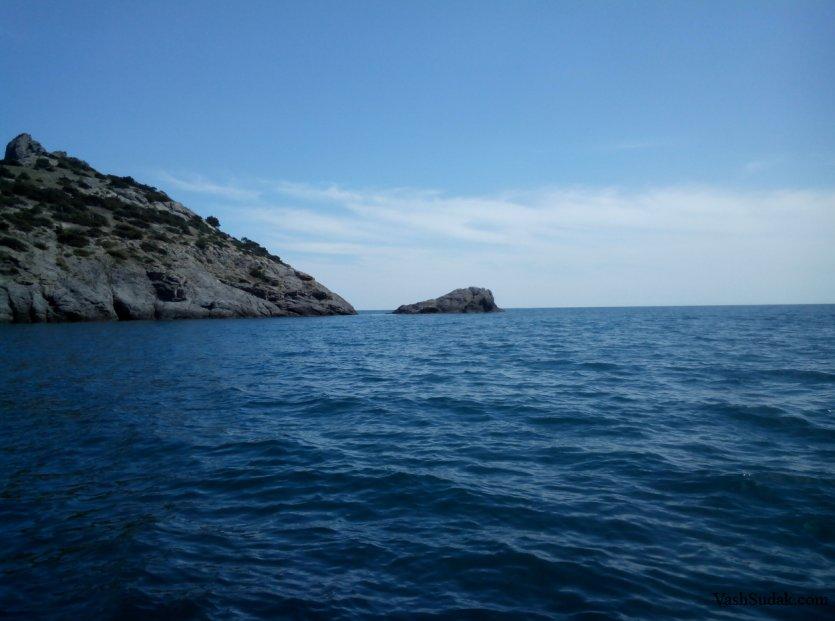 Морские экскурсии. Катер. Новый Свет