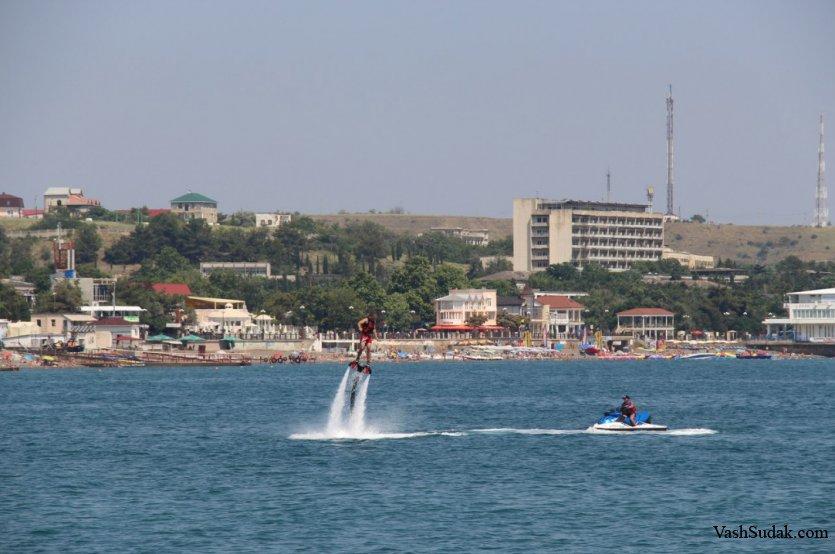 Флайборд. Крым