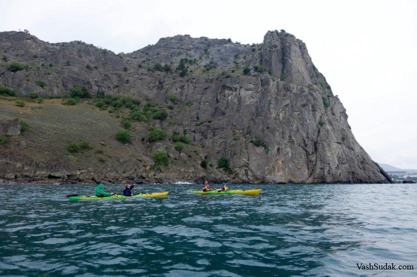 Каяки. Крым