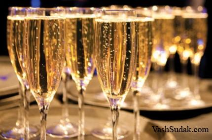 Шампанское полезно для здоровья