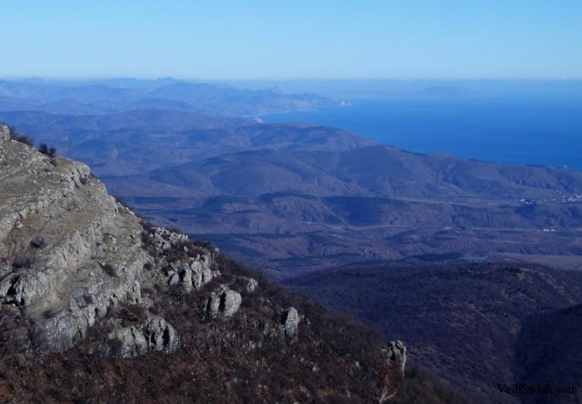 Гора Демерджи. Долина Привидений